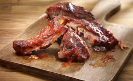 Pork, whether ribs or pulled/shredded, continue to be the go to meat for barbecue