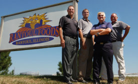 David Bulgarelli, Dave Piotrowski, James Jendruczek and Michael Lookingland, of Rantoul Foods