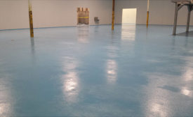 Cal Premium Treats Processing Facility Flooring