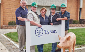 Tyson Fresh Meats Logansport, Ind., Plant Staff