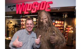 Troy Link, President and CEO of Jack Link's Protein Snacks, and Sasquatch