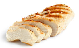 Slices of Grilled Chicken