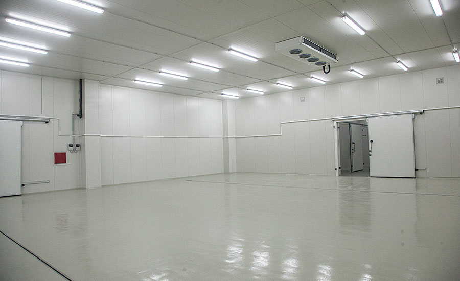 Inside View of a Food Facility Following Sanitary Design Principles