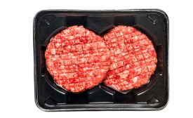Beef Patties in Thermoformed Tray