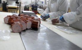 Food Safety Apparel in Meat Plant