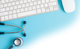 Keyboard and Stethoscope