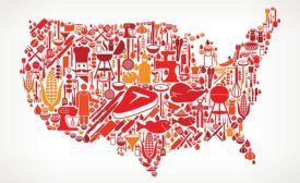 Food Map of United States