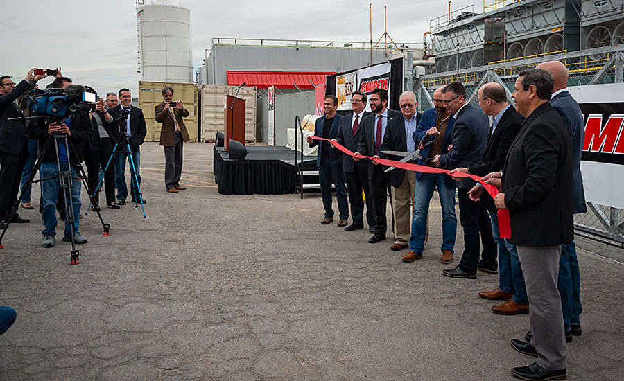 Stampede Meat New Plant Ribbon Cutting Ceremony