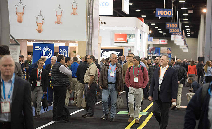 Attendees at IPPE