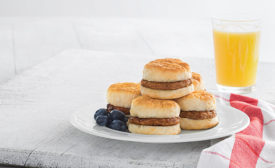 Plate of Breakfast Sandwiches