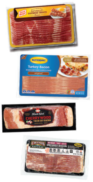 Variety of Bacon Packages