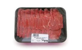 Packaged Beef Round for Sukiyaki