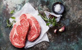 Steaks with Marbling