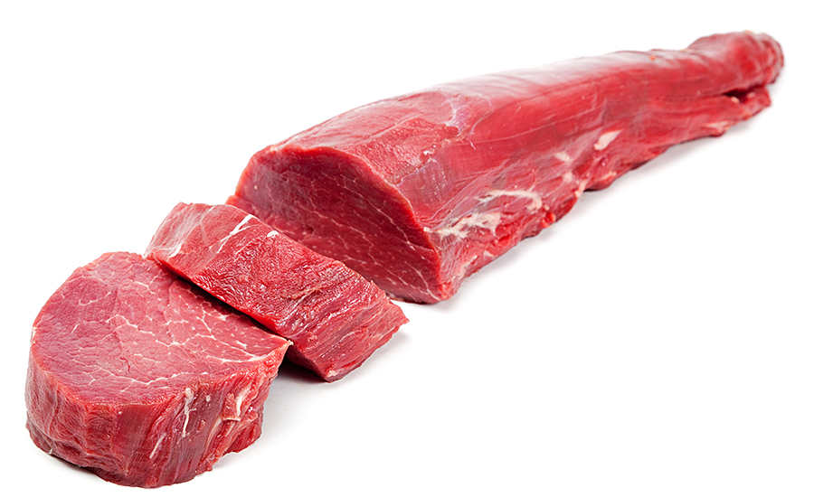 Muscle meat cutting