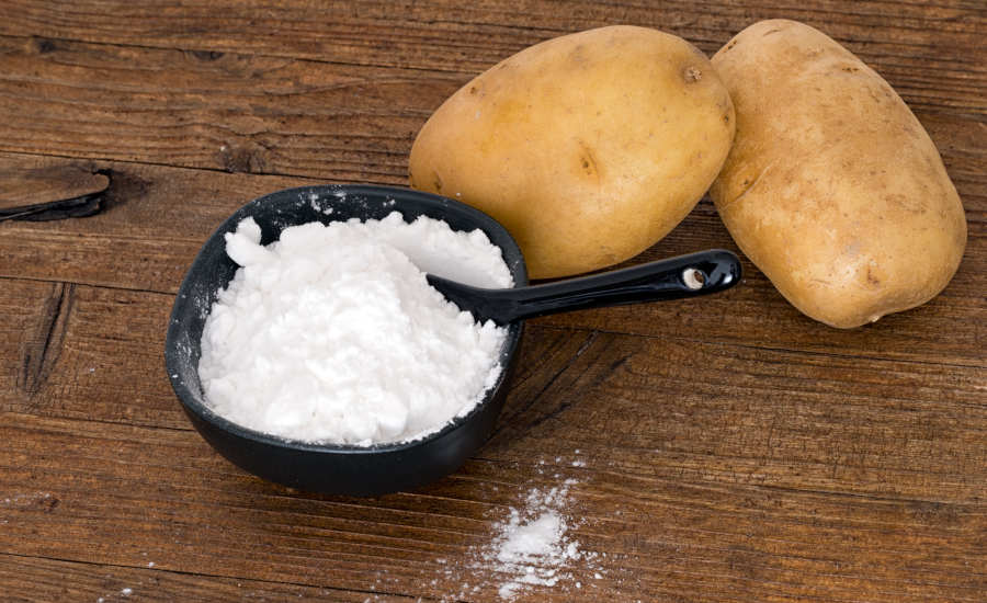 salt and potatoes