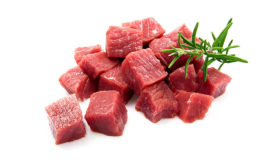 cubed beef