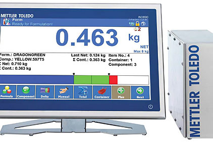 weighing terminal software
