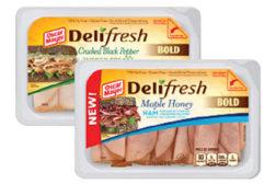 Deli Fresh BOLD flavors, Oscar Mayer