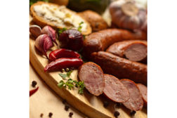 smoked sausage board