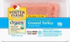 Foster Farms organic ground turkey