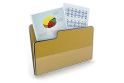 folder, charts, stats