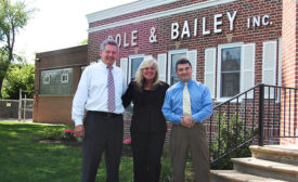 Dole & Bailey's steering committee: John Lynch, Nancy Matheson-Burns and Bill Burns
