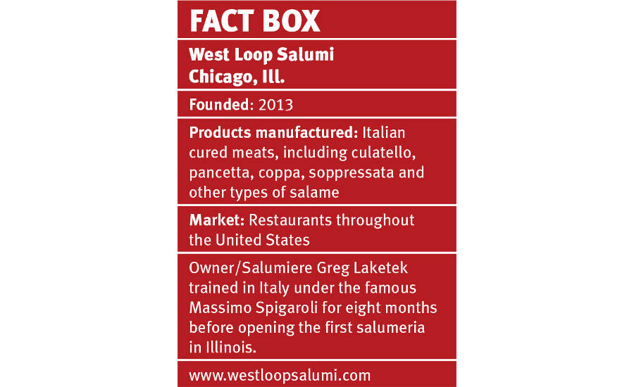 Facts about West Loop Salumi in Chicago, Illinois
