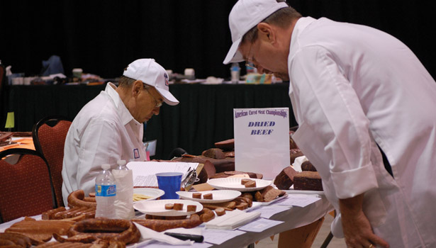 cured meat judging