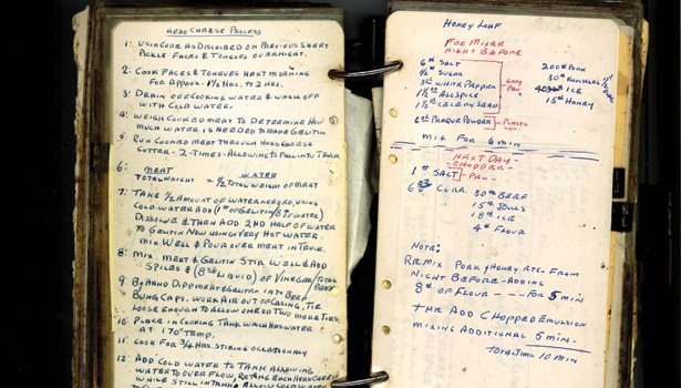 Dietz and Watson, recipe book