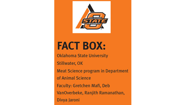 Oklahoma State University, meat science