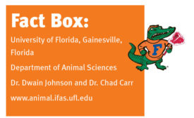 Facts about the University of Florida's Department of Animal Sciences