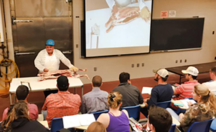 The department engages students in courses that will help to further develop their career in the agriculture industry