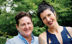 Hip Chick Farms, Chef Jen Johnson and Serfina Palendach