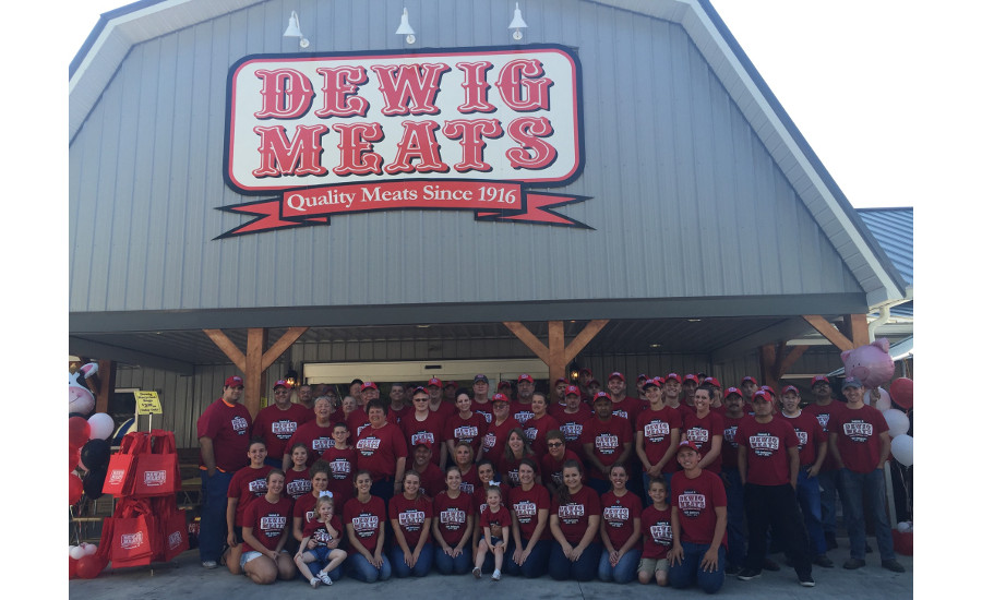 Dewig Meats store and employees