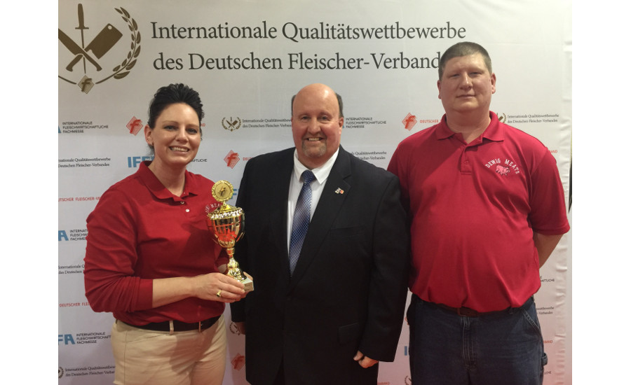 Dewig Meats competed in the IFFA Cured Meats Competition in Frankfurt, Germany, and won several medals for its products