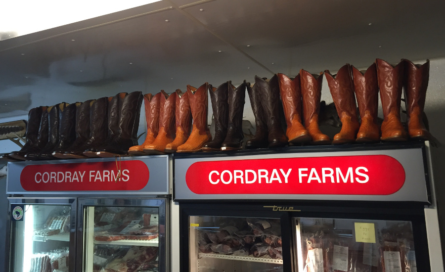 Cordray Farms alligator boots