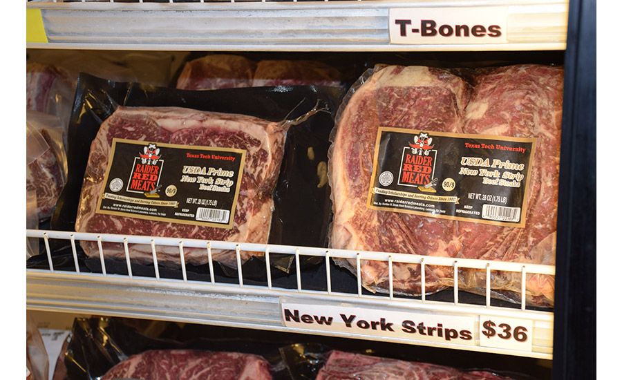 Steaks are one of Raider Red Meats' specialties