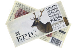EPIC's Venison Sea Salt Pepper bar