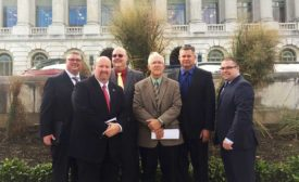 The AAMP Leadership Team in Washington DC