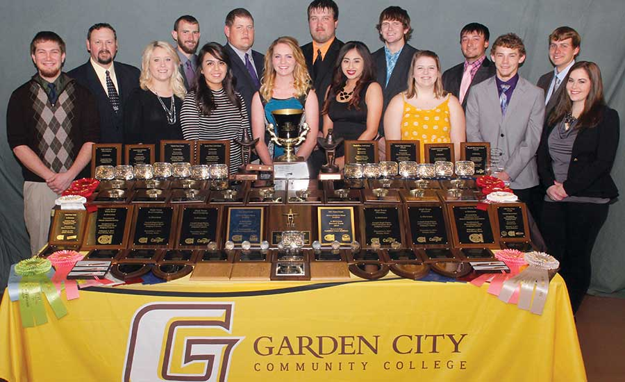 Garden City Community College students