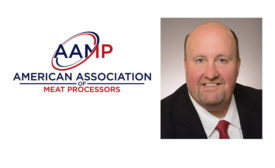 AAMP Logo and Executive Director Christopher Young
