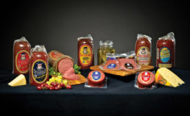 Seltzer's Smokehouse Meats offers several varieties of Lebanon Bologna