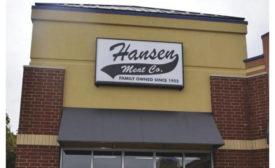 Hansen Meats store in Edwardsville, Ill.