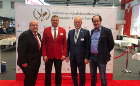 Chris Young, Chad Lottman, and Members of the German Butchers Association