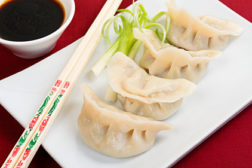 dumplings, chinese potstickers