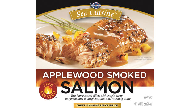 applewood smoked salmon