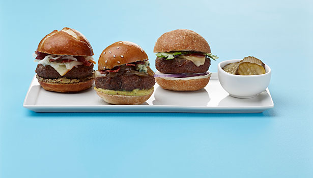 hamburgers, burger report, sliders