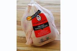Organic, air-chilled chicken