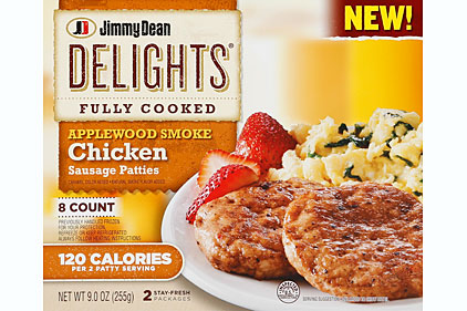 Delights by Jimmy Dean product line