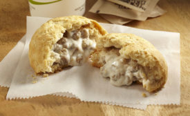 Johnsonville Foodservice Sausage & Gravy Stuffed Biscuits